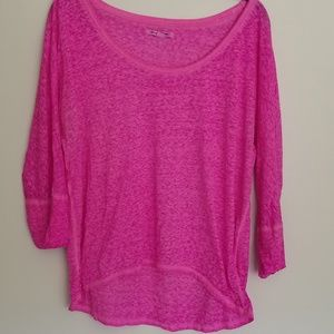 American Eagle oversized high low tee